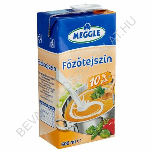Meggle Főzőtejszín 10% UHT dobozos 500 ml (#12)