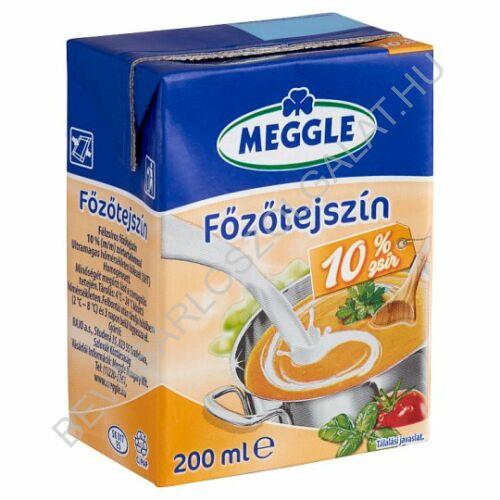 Meggle Főzőtejszín 10% UHT dobozos 200 ml (#18)