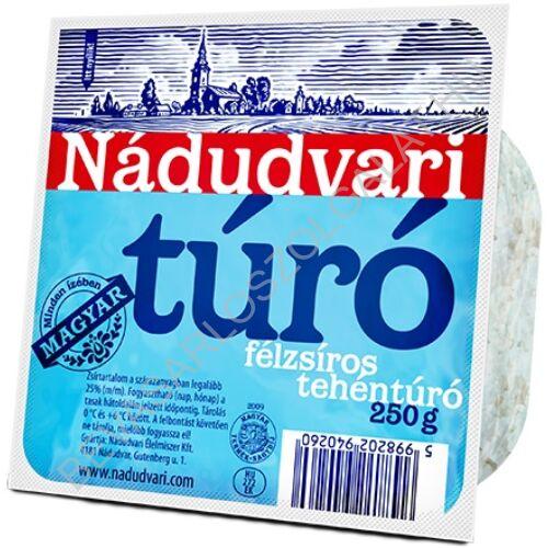 Nádudvari Félzsíros Tehéntúró 250 g (#24)