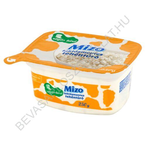 Mizo Laktózmentes Tehéntúró Félzsíros tégelyes 250 g