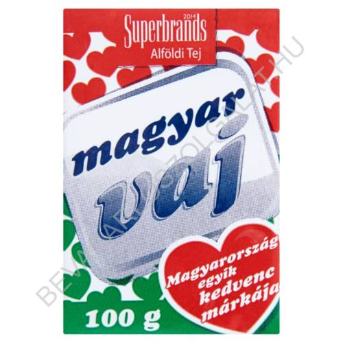 Magyar Vaj csomagolt 100 g (#20)