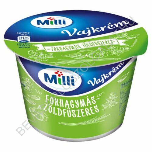 Milli Vajkrém Fokhagymás - Zöldfűszeres 200 g