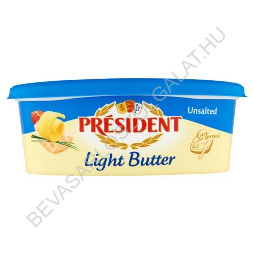 Président Light Vaj Natúr (Doux) tégelyes 250 g