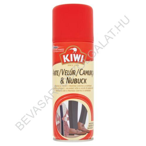Kiwi Velúr és Nubuk Regeneráló Aerosol Minden Színhez 200 ml