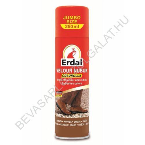 Erdal Velúr - Nubuk Cipőspray Barna 250 ml
