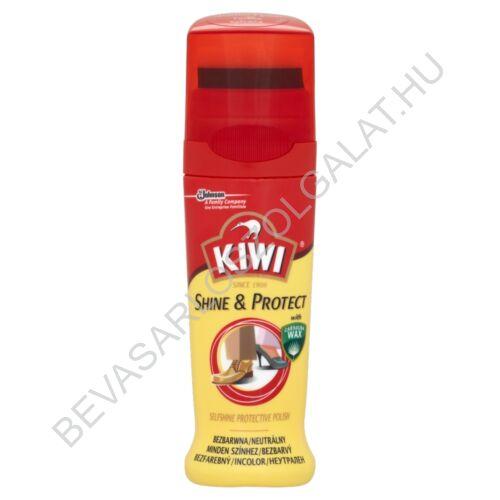 Kiwi Shine & Protect Önfényező Cipőápolószer Minden Színhez 75 ml