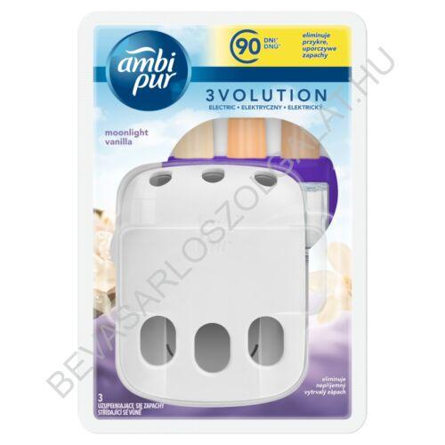 Ambi Pur 3Volution Elektromos Illatosító Készülék + utántöltő Moonlight Vanilla 20 ml