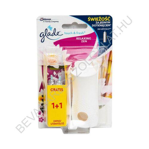 Brise Glade Touch & Fresh Mini Spray Aerosolos Légfrissítő Készülék + 2 db Utántöltő Relaxing Zen 2x10 ml