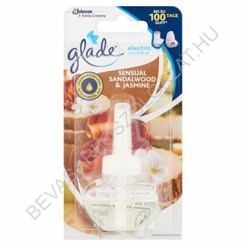 Brise Glade Elektromos Illatosító Utántöltő Sensual Sandalwood & Jasmine 20 ml