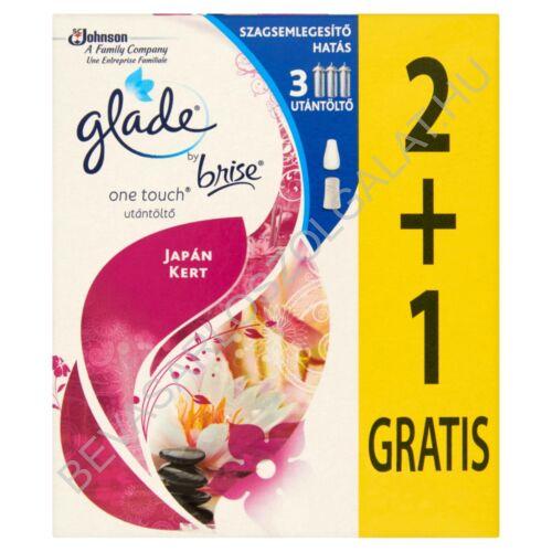 Brise Glade Touch & Fresh Mini Spray Aerosolos Légfrissítő Utántöltő 2+1 GRATIS Relaxing Zen (Japánkert) 3x10 ml