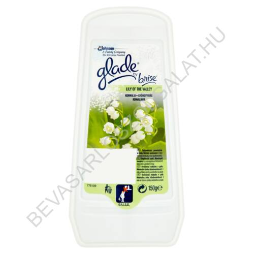Brise Glade Légfrissítő Zselé Gyöngyvirág 150 g (#12)