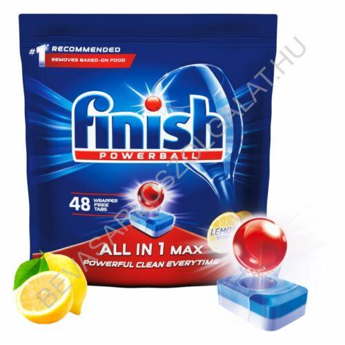 Calgonit Finish All In 1 Max Mosogatógép Tabletta Lemon 50 db