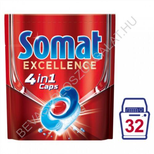 Somat Excellence mosogatógép kapszula 32 db