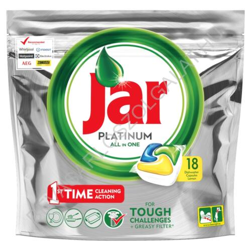 Jar Platinum Lemon Mosogatógép Kapszula 18 db (#5)