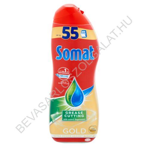 Somat Gold Gel Grease Cutting gépi mosogatószer gél 990 ml