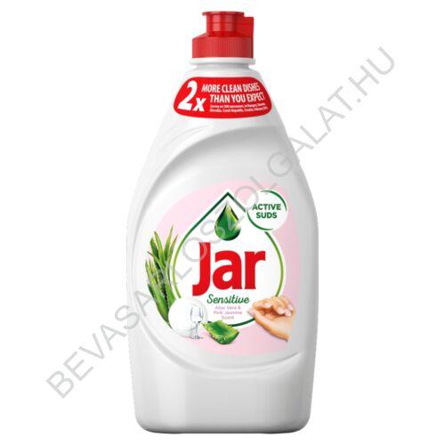 Jar Mosogatószer Sensitive Aloe Vera & Pink Jasmin 450 ml (#21)