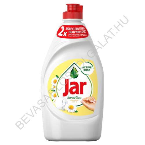 Jar Mosogatószer Sensitive Chamomile & Vit. E 450 ml (#21)