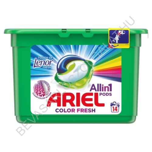 Ariel Mosókapszula Touch of Lenor Fresh 14 db (#6)