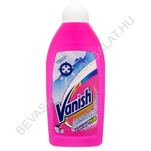 Vanish Oxi Action Intelligence Plus Crystal White Függönymosó Adalék 500 ml