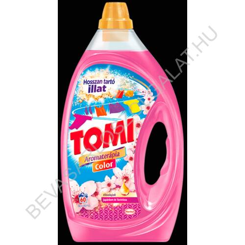 Tomi Mosógél Aromaterápia Japánkert Color 60 mosás 3 l