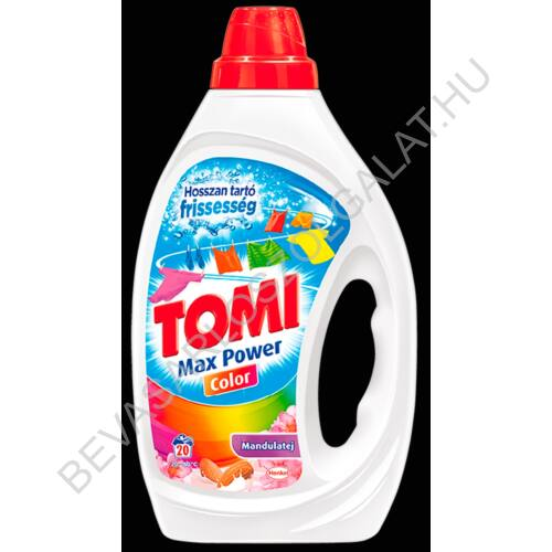 Tomi Mosógél Mandulatej Color 20 mosás 1 l