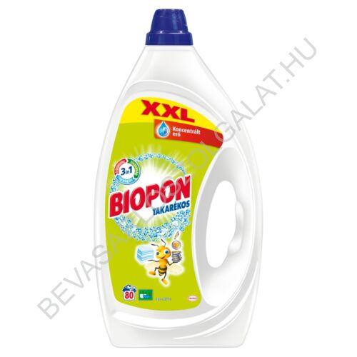 Biopon Takarékos Mosógél Normál 80 mosás 4 l
