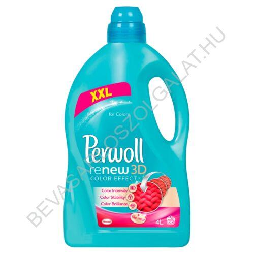 Perwoll Folyékony Mosószer renewAdvanced Color & Fiber 60 mosás 3,6 l