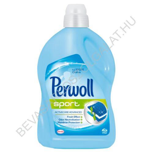 Perwoll Folyékony Mosószer Sport 45 mosás 2,7 l (#6)