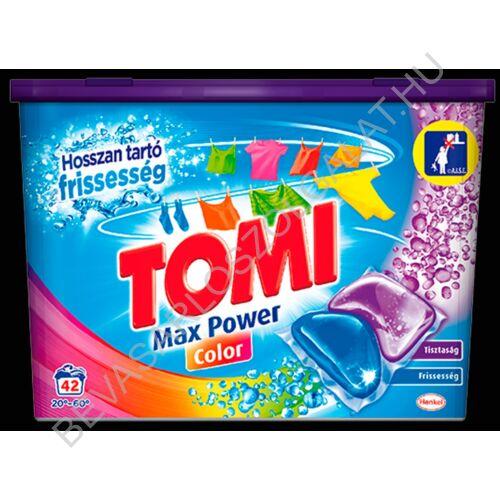 Tomi Mosókapszula Color 42 mosás, 840 g