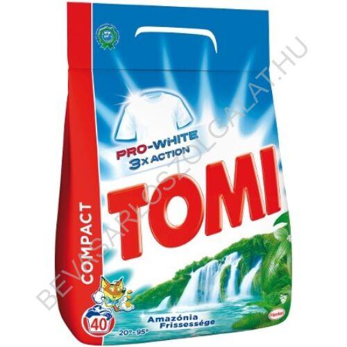 Tomi Mosópor Amazónia Frissessége 40 mosás 2,8 kg (#5)