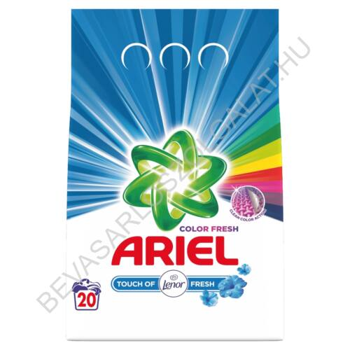Ariel Mosópor Touch of Lenor Fresh 18 mosás 1,35 kg (#10)
