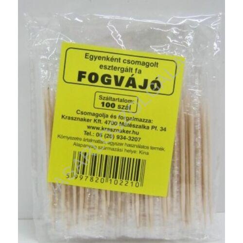 Krasznaker Fogvájó Egyenként Csomagolt 100 db-os csomag (#50)