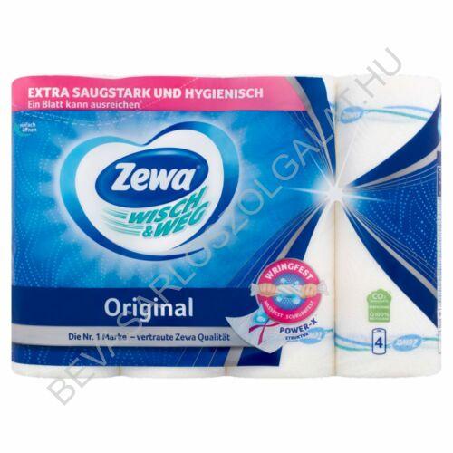 Zewa Wisch & Weg Original Mintás Háztartási Papírtörlő 2 rétegű, 4 tekercs (#12)