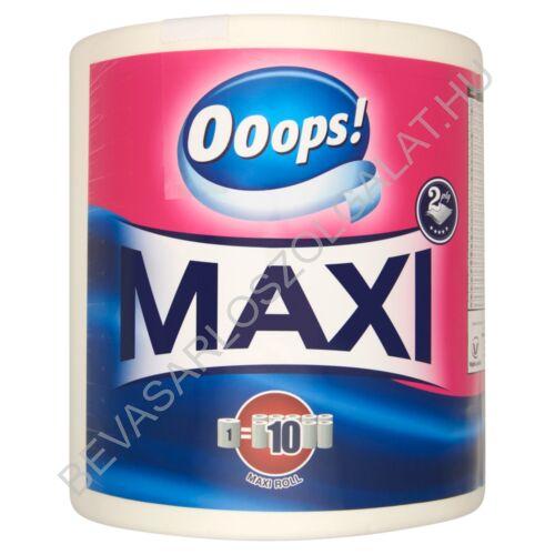 Ooops! Maxi Papírtörlő Fehér, 2 rétegű, 500 lap, 100 m