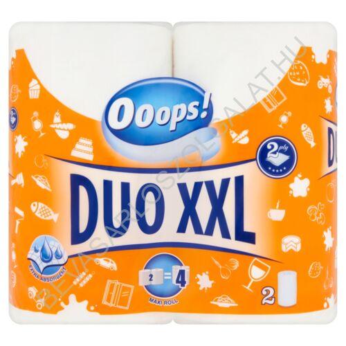 Ooops! Duo XXL Háztartási Papírtörlő 2 rétegű, 2 tekercs, 2x22 m (#10)