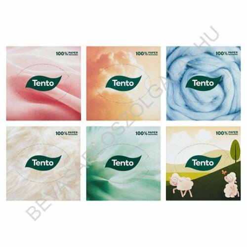 Tento Kozmetikai Kendő cubebox 3 rétegű, 58 db