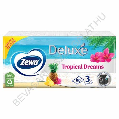 Zewa Deluxe Papírzsebkendő Winter Wonderland 3 rétegű, 90 db (#40)