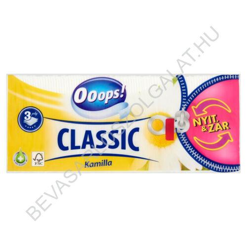 Ooops! Classic Papírzsebkendő Camomile 3 rétegű, 90 db (#20)