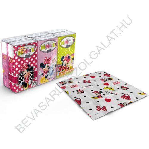 Minnie Papírzsebkendő 4 rétegű, 6x9 db