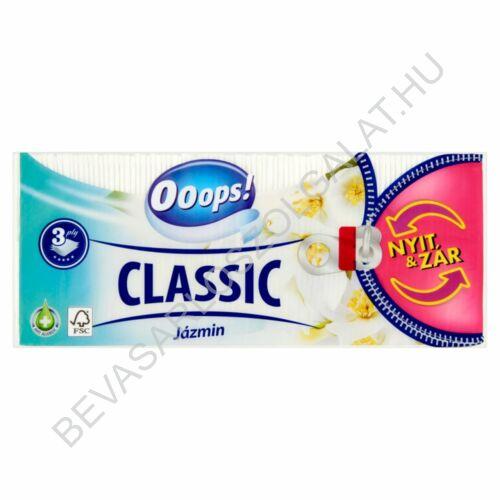 Ooops! Classic Papírzsebkendő Jasmine 3 rétegű, 90 db (#20)