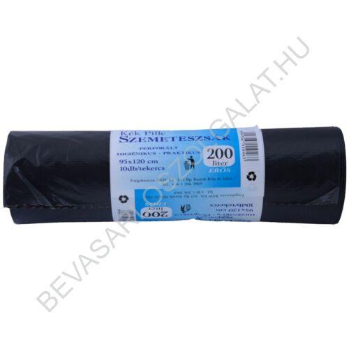 Kék Pille Erős Szemeteszsák 200 l, 10 db