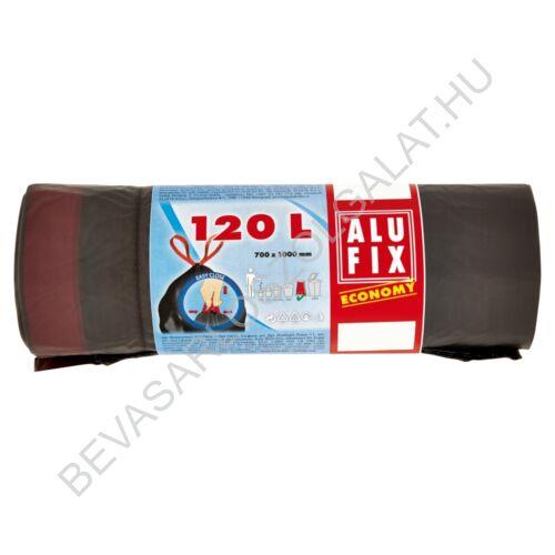 Alufix Economy Szemeteszsák Zárószalaggal 120 l, 7 db