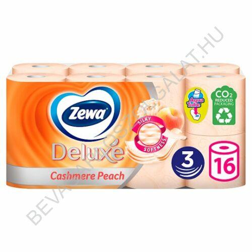 Zewa Deluxe Toalettpapír Cashmere Peach Barackszínű 3 rétegű 16 tekercs (#3)