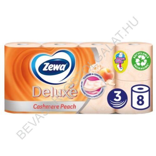 Zewa Deluxe Toalettpapír Cashmere Peach Barackszínű 3 rétegű 8 tekercs (#6)