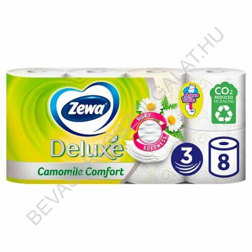 Zewa Deluxe Toalettpapír Camomile Comfort Fehér 3 rétegű 8 tekercs (#6)