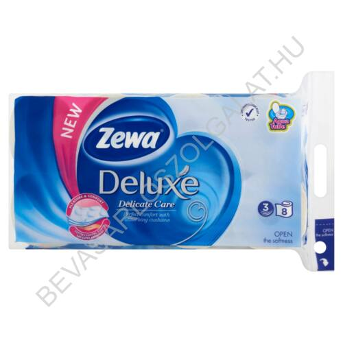 Zewa Deluxe Toalettpapír Delicate Care 3 rétegű 8 tekercs (#6)