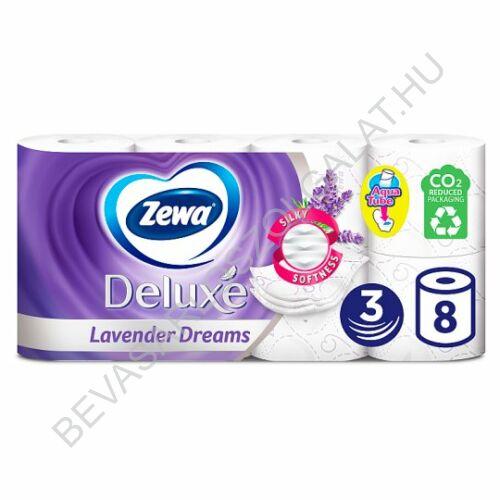 Zewa Deluxe Toalettpapír Lavender Dreams 3 rétegű 8 tekercs (#6)
