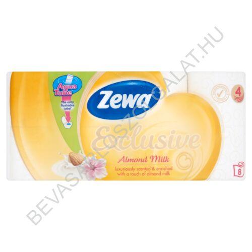 Zewa Exclusive Toalettpapír Almond Milk 4 rétegű 8 tekercs