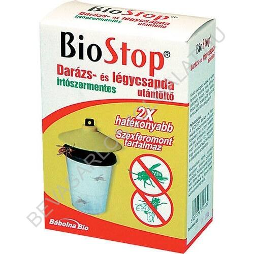 Biostop Darázs- és Légycsapda Utántöltő 3 db, 3x15 ml