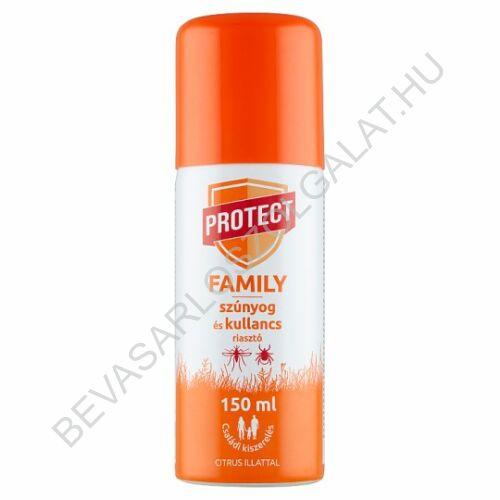 Protect Family szúnyog- és kullancsriasztó aeroszol citrus illattal 150 ml